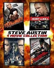 Steve Austin: 4 Movie Collection (Blu-ray Disc, 2014, 4-Disc Set, SteelBook)