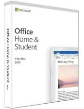 Microsoft Office Home And Student 2019 BRAND-NEW UNOPENED PACKAGE for Windows 10
