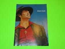 Vintage Signed Autographed Zoot Suit Playbill Program