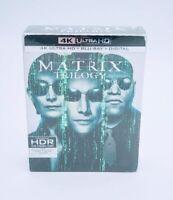 Matrix Trilogy Bluray 4K Ultra HD HDR & Digital Matrix & Reloaded & Revolutions