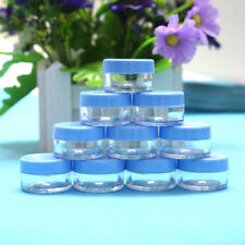 50 empty Cosmetic Container, Sample Jar,Display Case,Cosmetic Packaging 5G Blue