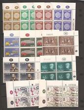 Israel 1954 Plate Block Complete Year Set