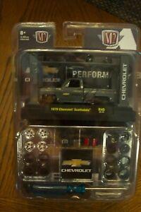 M2 Machines 1/64 CHEVROLET PERFORMANCE 1979 Scottsdale Squarebody MODEL KIT