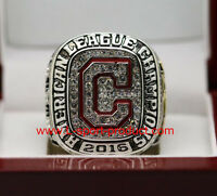 CLEVELAND INDIANS 2016 AMERICAN LEAGUE AL championship ring 8-14S