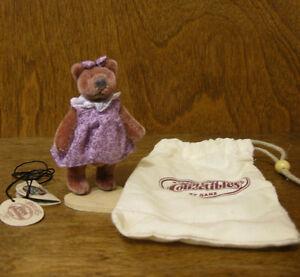 "Ganz Cottage Miniature Plush #CC7315 PIGGY, 3"" designed by Mary Halstad, NEW"