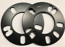 4 X 5mm BLACK BIMECC HUB CENTRIC 54.1 ALLOY WHEEL SPACER FOR TOYOTA 4 X100 5X100