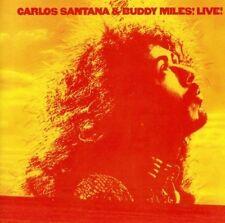 BUDDY MILES (DRUMS)/CARLOS SANTANA - CARLOS SANTANA & BUDDY MILES! LIVE! NEW CD