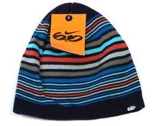 huge selection of ec2de eabc6 Nike 6.0 Skateboarding Blue Striped Knit Beanie Skull Cap Youth Boys 8-20  NWT