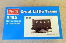2 X PECO Great Little Trains Or-31 4 Wheel Coach Brake 7mm 0-16.5 Narrow Gauge