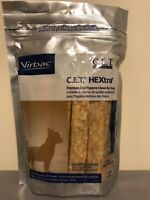 CET HEXtra Premium Chews With Chlorhexidine For Dogs, 30 Petite TAN