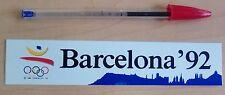 Pegatina original olimpiadas Barcelona 92 Sticker Olympics Genuine 1992