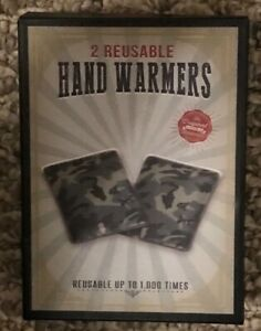 2 REUSABLE HAND WARMERS