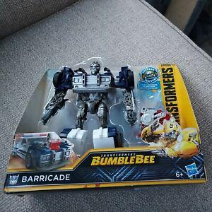 Transformers Bumblebee  Energon Igniters Barricade Figure by Hasbro. New.