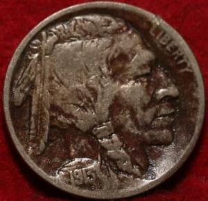 1913 Type I  Philadelphia Mint  Buffalo Nickel
