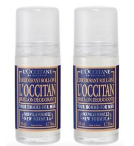 L'Occitane L'Occitan Fragranced Roll On Deodorant 50mlx2 Fresh Long-lasting