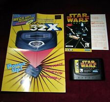 SEGA MEGA DRIVE 32x STAR WARS ARCADE! JAPANESE ORIGINAL GAME SHOOTER RETRO NTSC
