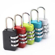 Zinc Alloy Code Number Lock Practical Password Portable Suitcase Locker Padlock