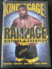 King of the Cage Rampage Birth of a Champion DVD - MMA Pride - Quinton Jackson