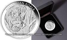 Perth Australia 2013 Koala Bear Climbing Tree 50 Cents 1/2 Oz Pure Silver In Box