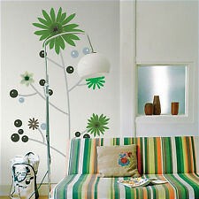 KIPIC TREE giant wall stickers MURAL 30 decals flowers branches dots garden