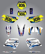 Husaberg FE 390, 450, 570, TE 250, 300, FX 450, FS 570 2009- 2012 storm stickers
