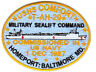 USNS COMFORT PATCH, T-AH-20, MILITARY SEALIFT COMMAND, HOMEPORT, BALTIMORE, MD