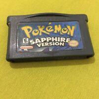 "Genuine Fake ""Nintondo"" Pokemon Sapphire Gameboy Advance Cartridge AGB-002"