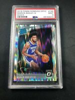 2018 Panini Donruss Optic #168 Marvin Bagley III Shock Rated Rookie PSA 9 RC