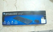 HP WIRELESS Elite Desktop v2 2.4GHz USB KEYBOARD + MOUSE QB355AA#ABL