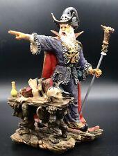 Fantasy Wizard Dragon Mythical Figurine Mystic Fantasy Skull Potion Halloween