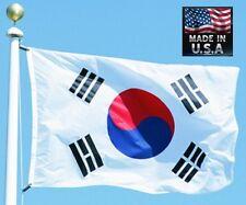 SOUTH KOREA Korean 3x5 ft Heavy Duty In/outdoor Super-Poly FLAG BANNER*USA MADE