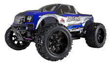 REDCAT Volcano EPX 1/10 Scale Brushed Electric 4WD RC Monster Truck BLUE/SILVER