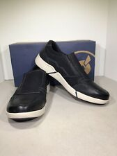Propét Lane Men's Size 11H Black Nubuck Slip On Loafer Sneakers RJ-17