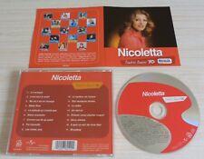 CD ALBUM TENDRES ANNEES 70 BEST OF NICOLETTA 17 TITRES 2003