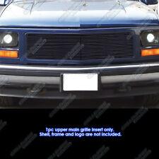 Fits 94-98 GMC C/K Pickup/94-99 Suburban/Yukon Single Lights Black Billet Grille