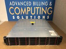 "HP StorageWorks AJ941-63002 D2700 25-Bay 2.5"" SAS Disk Enclosure 2xPSU 25x caddy"