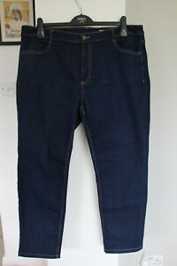 Women's Marks and Spencers Straight Leg Jeans - Size 20 Short