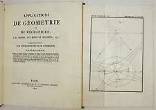 DUPIN (Ch.). Applications de géométrie et de méchanique... - 1822 - 17 planches