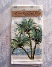 Palm Trees Flour Sack Towel Kay Dee Key West Pattern