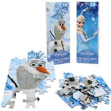 Disney Frozen Tower Jigsaw Puzzle, Anna, Elsa, and Olaf, 2-PACK, 100-PIECES
