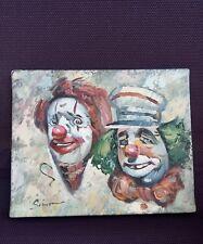 HST Clowns signé SIMON