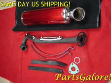 High Performance Racing Exhaust Muffler System CG200 CG250 200cc 250cc ATV Quad