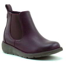 Heavenly Feet Rolo 2 Womens Wedge Chelsea Ankle Boots Size 4-8