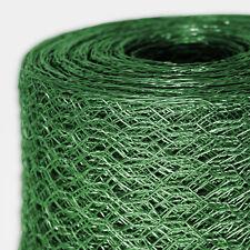 Kaninchendraht Maschendrahtzaun Hasengitter Drahtgitter Drahtzaun 6Eck Grün PVC