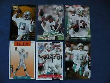 Dan Marino cards 12 available 2/$1.50 your pick Dolphins NFL football $1S&H