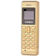 Zanco Gold Fly Cambiador de voz con más pequeña del mundo de teléfono Bluetooth Nuevo Libre P&P