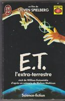 E.T L'extra Terrestre - S. Spielberg. Livre offert par 33 export. J'ai Lu 1987 .
