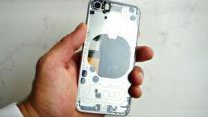 iPhone XS Max / XS / XR / X / 8+ / 8 Clear / Transparent Back Glass Mod Service