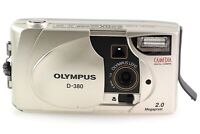 Olympus Camedia D-380 D 380 D380 Digitalkamera Kamera mit 1:4 4,5mm Optik