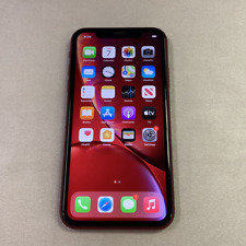 Apple iPhone XR - 64GB - Red (Unlocked) (Read Description) BJ1089